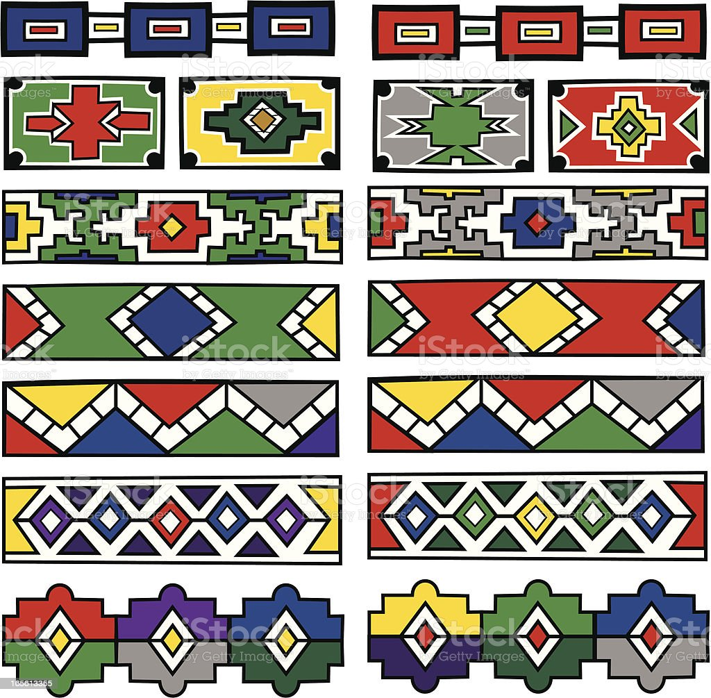 African Patterns Stock Illustration - Download Image Now