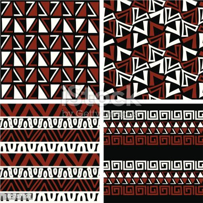 Free download of African Tribal Pattern vector graphics and