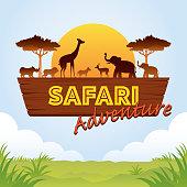 istock African Safari Adventure Sign 1001649214