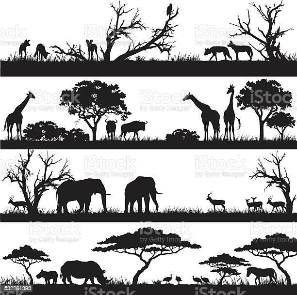 African safari silhouettes vector id532261393?b=1&k=6&m=532261393&s=612x612&h=9e2 9tmc6vewxovvi ft6c0mqjjyi57g9k77alkqvlo=
