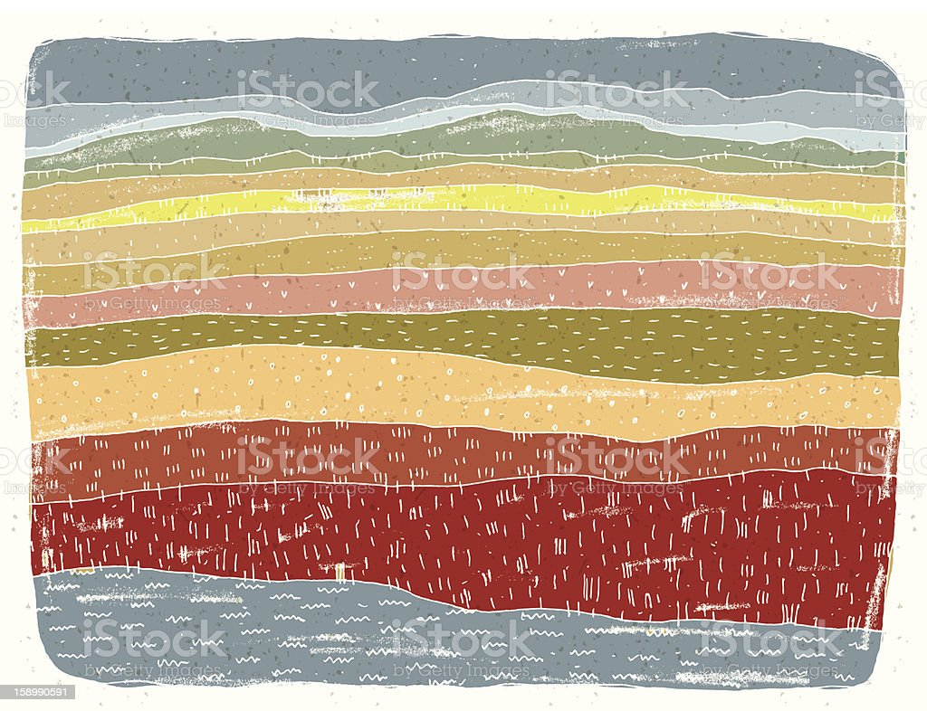 African Savannah Landscape royalty-free african savannah landscape stock vector art & more images of africa