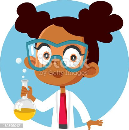 istock African Student Girl Taking a Science Chemistry Class 1323950421
