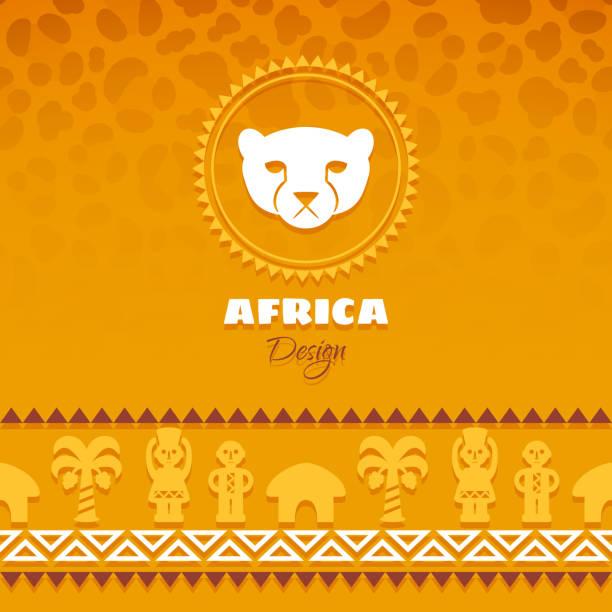 african tribal ethnic art hintergrund - kultfilme stock-grafiken, -clipart, -cartoons und -symbole