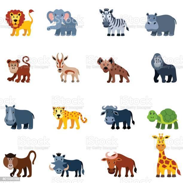 African wild animals vector id801095398?b=1&k=6&m=801095398&s=612x612&h=pk3zsejmdfgigtxytpb dw9ddles7d00iw8wb uqsmi=
