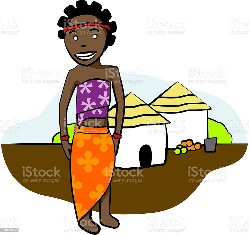 african woman royalty-free african woman stock vector art & more images of adult