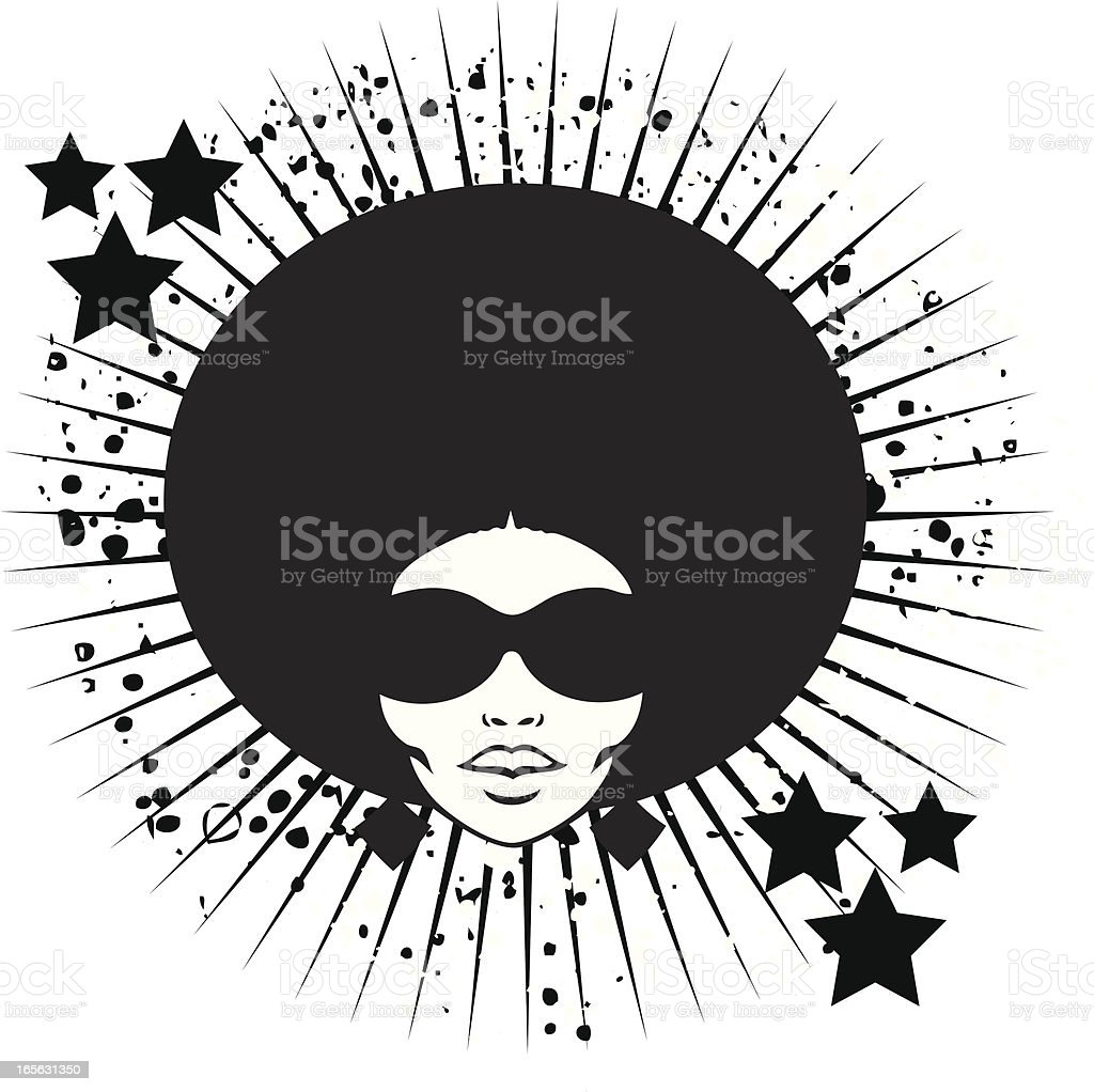 Afro Hair Vector Royalty Free Natural H...