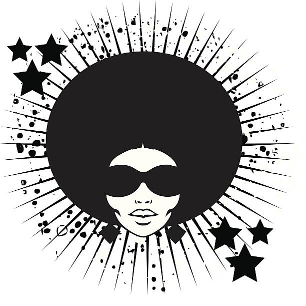 Afro Hair Vector Royalty Free Na...