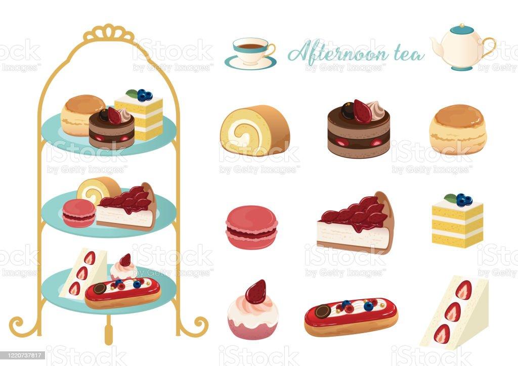 afternoon tea vector illustration set stock illustration download image now istock afternoon tea vector illustration set stock illustration download image now istock