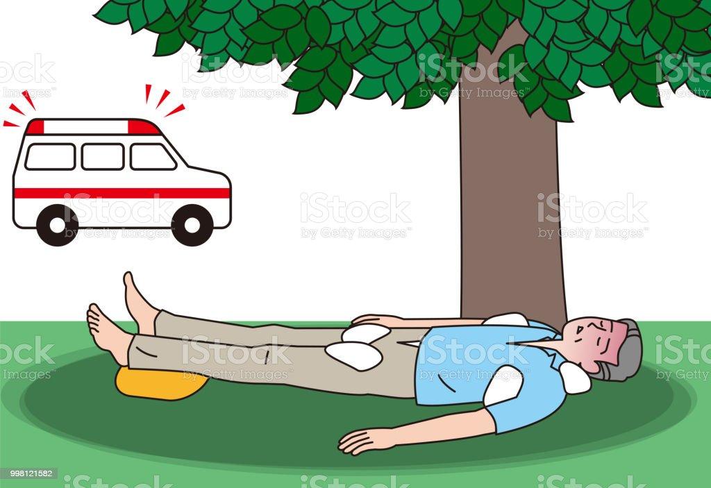 Primeros golpe auxilios insolacion calor e de