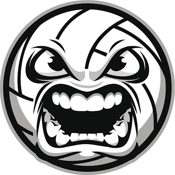 aggresive バレーボール - バレーボール点のイラスト素材/クリップアート素材/マンガ素材/アイコン素材