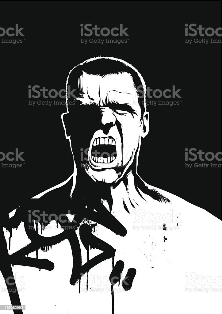 Aggression royalty-free aggression stock vector art & more images of adult