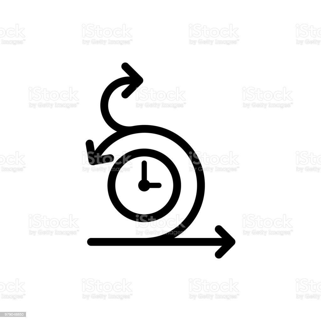 Agile icon vector art illustration