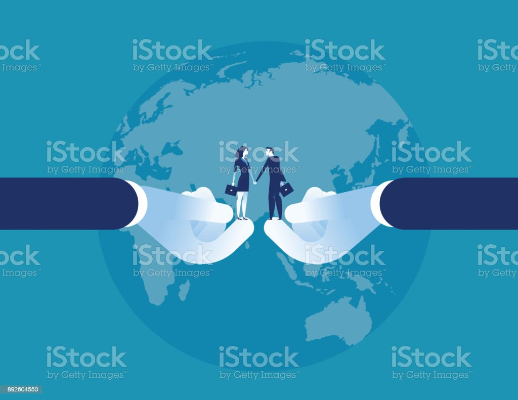 Agreement Success Business Agent Shaking Hand Concept