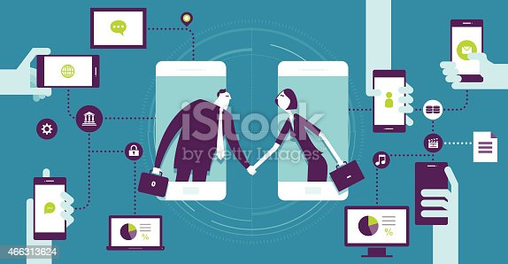 istock Agreement 466313624