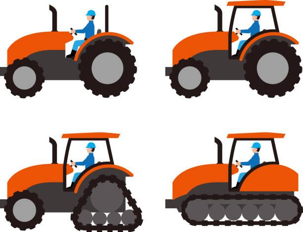 bildbanksillustrationer, clip art samt tecknat material och ikoner med jordbrukstraktorer och drivrutin - traktor pulling
