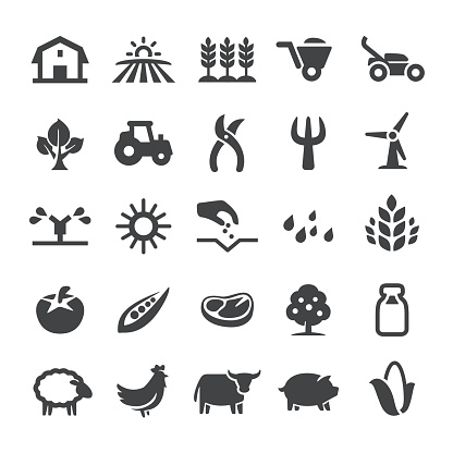 Agriculture Icons - Smart Series