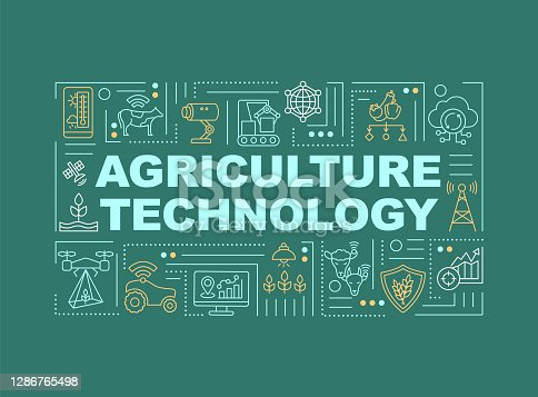 istock Agriculture machinery word concepts banner 1286765498