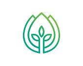 Agriculture Symbol Template Design Vector, Emblem, Design Concept, Creative Symbol, Icon