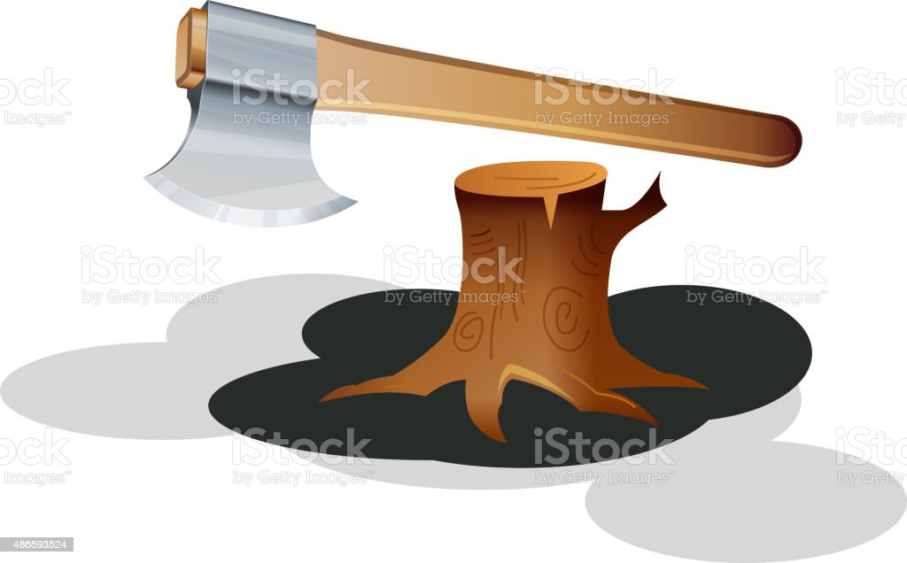Agriculture Tool Axe Stock Vector Art More Images Of 2015