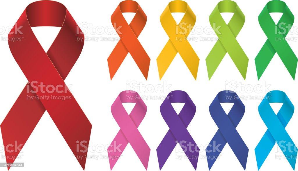 Aids vector art illustration