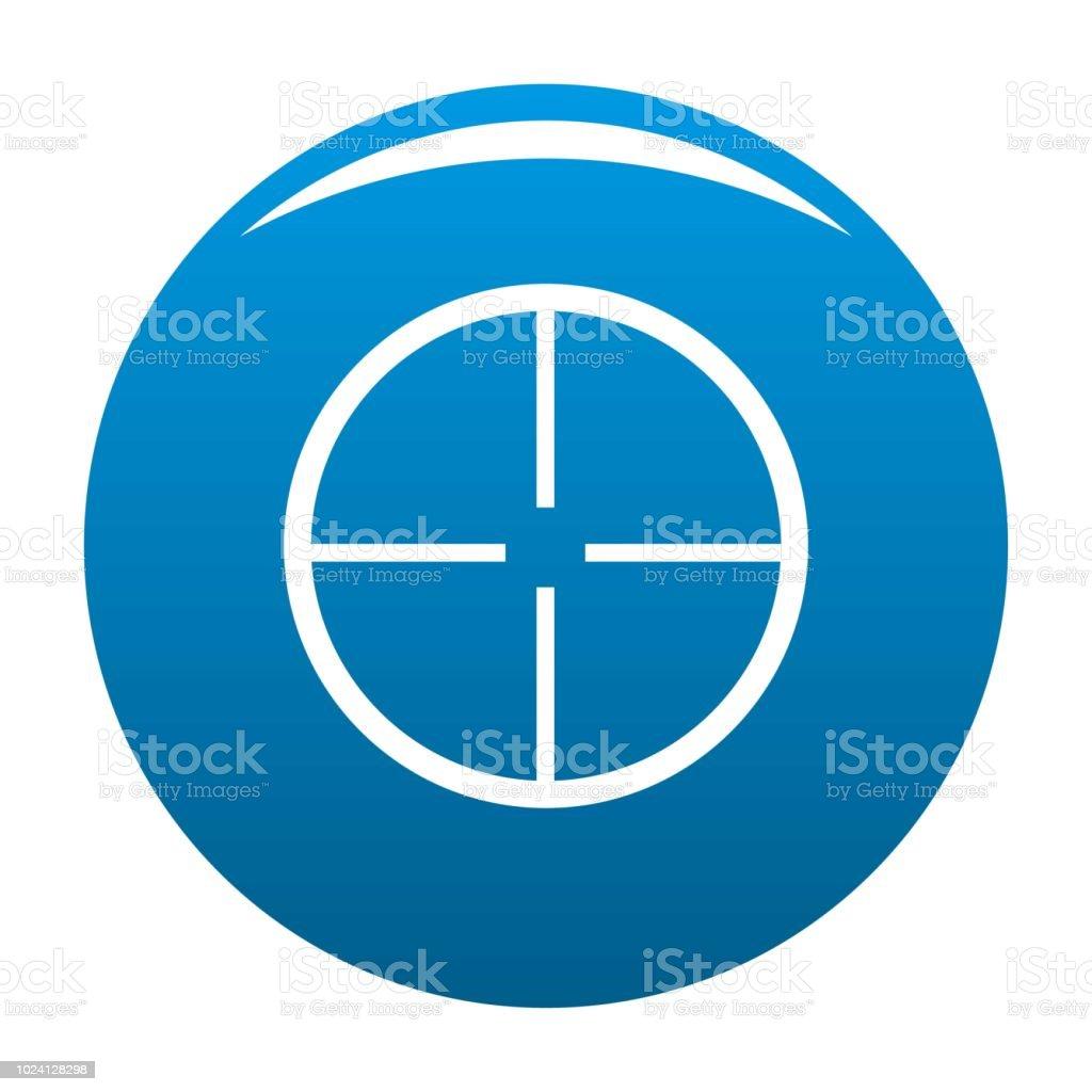 aim icon blue vector stock illustration download image now istock aim icon blue vector stock illustration download image now istock