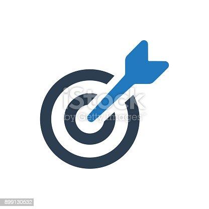 istock Aim Icon 899130532