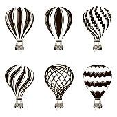 air balloon set