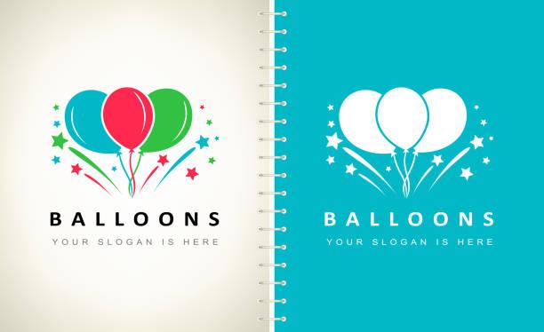 air balloons and fireworks vector air balloons and fireworks vector hot air balloon stock illustrations