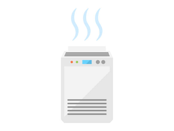 エアクリーナー - 加湿器点のイラスト素材/クリップアート素材/マンガ素材/アイコン素材