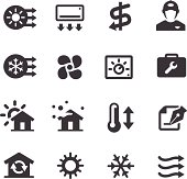 Air Condition System Icons - Acme Series