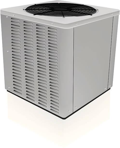 ilustrações, clipart, desenhos animados e ícones de ar condicionador unidade fechado - ar condicionado