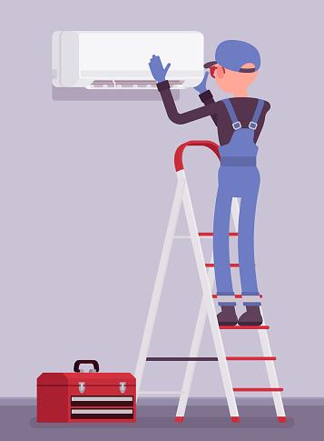 Air Conditioner unit installation, fixing or ac repair