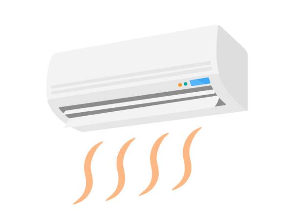 エアコン - エアコン点のイラスト素材/クリップアート素材/マンガ素材/アイコン素材