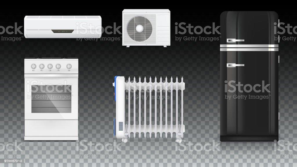 Kühlschrank Im Retro Design : Air klimaanlage elektrische Ölradiator kühlschrank mit retrodesign