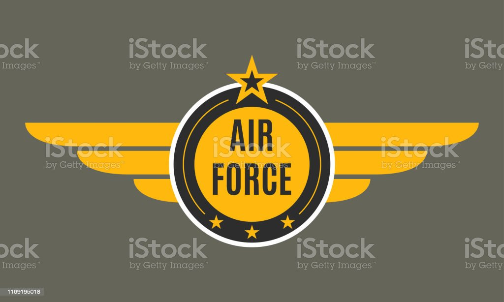Download Air Force Badge With Wings And Star Army And Military ...
