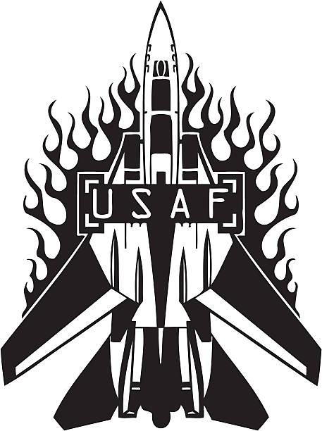 Best Us Air Force Illustrations, Royalty-Free Vector ...