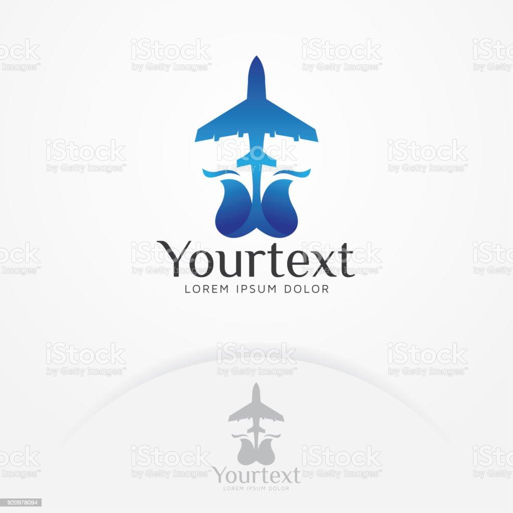 Air Plane Symbol Design Stock Vector Art More Images Of Aerospace