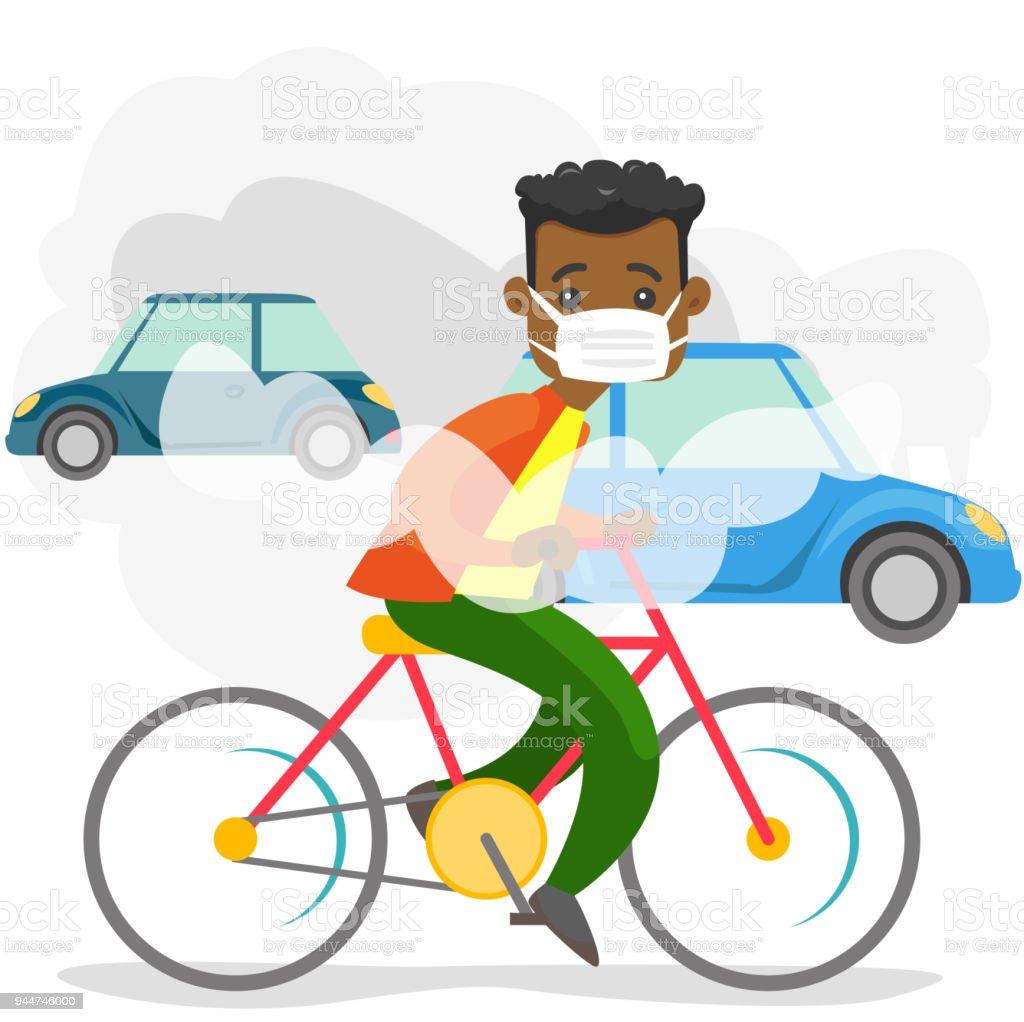 pollution atmosph rique caus e par les missions de co2 des voitures cliparts vectoriels et. Black Bedroom Furniture Sets. Home Design Ideas