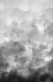 istock Air Pollution Smoke Gray Clouds Watercolor Grunge Abstract Background with Copy Space 1287951637