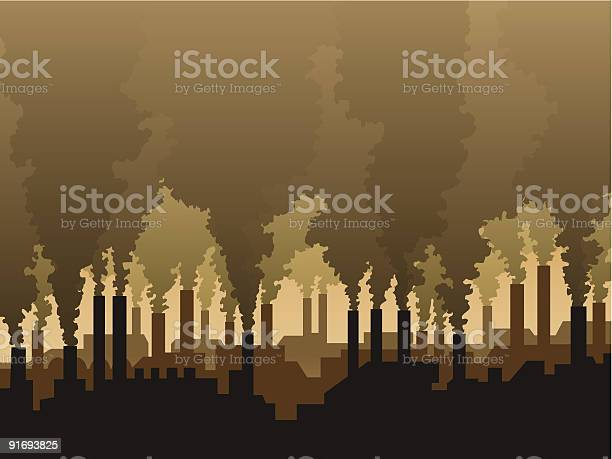 Air Pollution Stock Illustration - Download Image Now