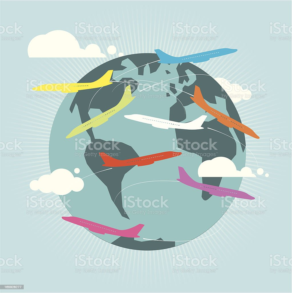 Air traffic royalty-free air traffic stock vector art & more images of africa