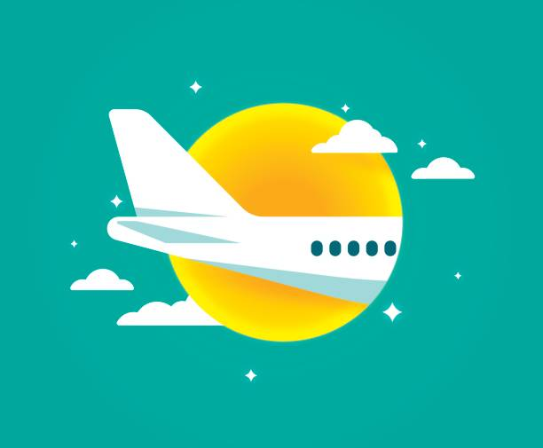 Best Airplane Tail Illustrations, Royalty-Free Vector Graphics