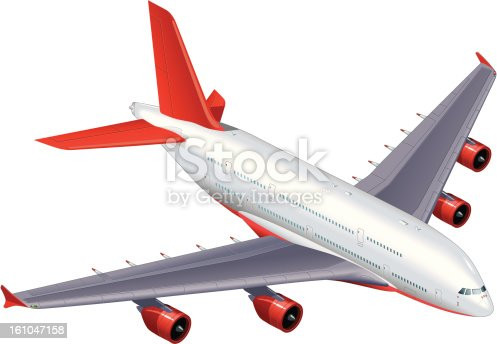 istock Airbus A380 Commercial Passenger Airplane 161047158