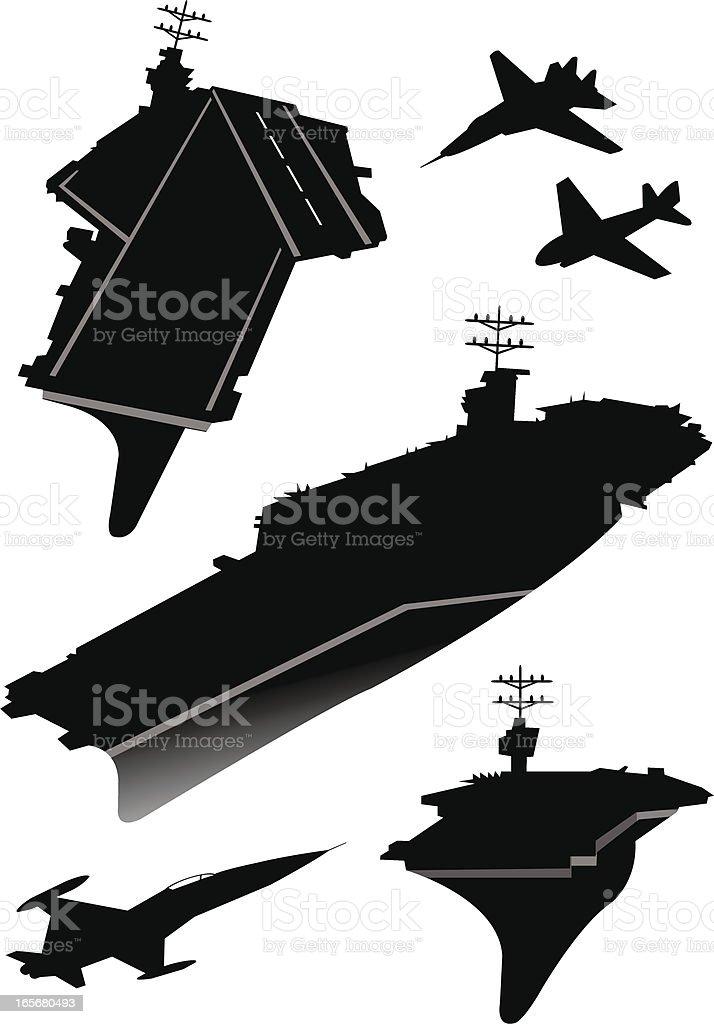 royalty free aircraft carrier clip art vector images rh istockphoto com aircraft carrier clipart Aircraft Carrier Coloring Pages