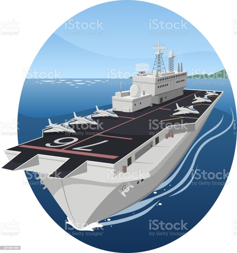 royalty free aircraft carrier clip art vector images rh istockphoto com aircraft carrier ship clipart us aircraft carrier clipart