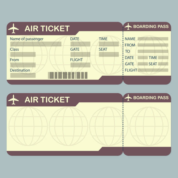 Best Background Of A Blank Boarding Pass Template ...