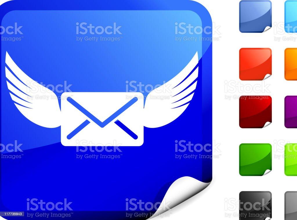 airmail internet royalty free vector art royalty-free stock vector art