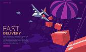 istock Airplane cargo 1285621110