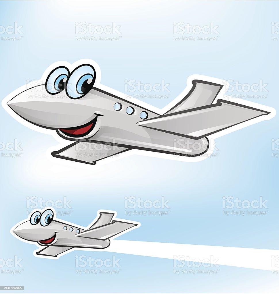 airplane cartoon stock vector art 500724845 istock