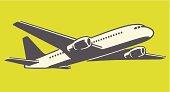 istock Airplane in Flight 181829823
